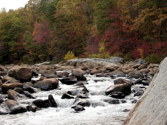 Potomac River in Fall